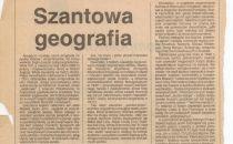Szantowa geografia
