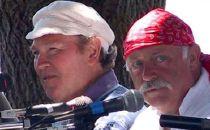 Liam Clancy (z lewej) i Pat Sheridan w Mystic Seaport Museum