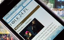 Serwis Folk24.pl dostępny w wersji mobilnej