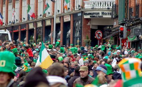Dublin, St. Patrick's Day