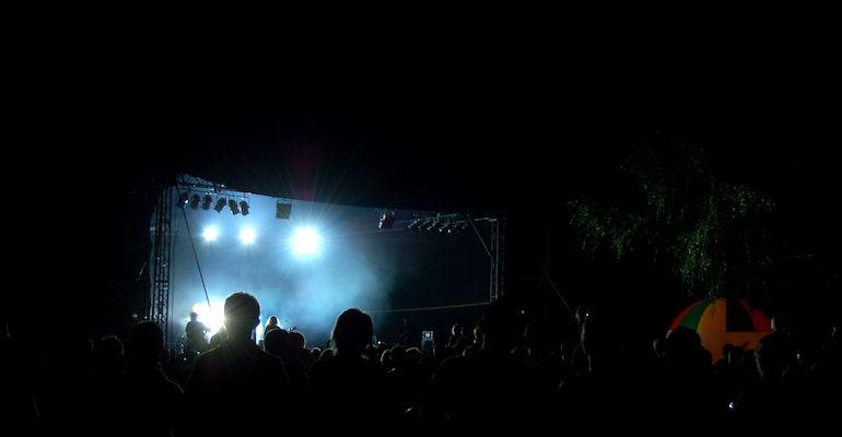 Letnia scena festiwalowa