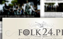 Strona startowa Folk24.pl