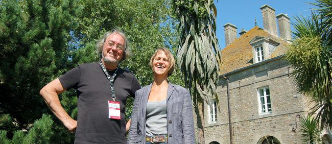 Gérard Viel i Laurence Loyer