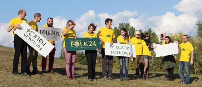 Redakcja Folk24 i goście