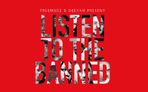 """Okładka płyty """"Listen to the Banned"""""""