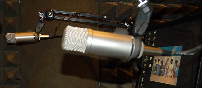 Radiowe mikrofony
