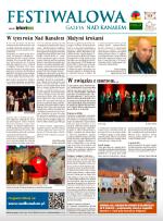 """Festiwalowa Gazeta """"Nad Kanałem"""" 2013"""