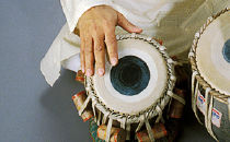 Instrumenty Zakira Hussaina